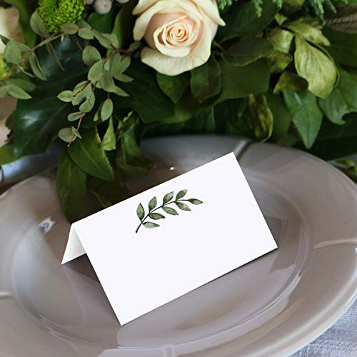 321Done Greenery Place Cards 3.5quot x 2quot (Set of 24) Blank for