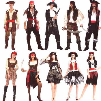 US $14.9 |Female Adults Pirates Cosplay Costume For Women Performance Pirates Cost