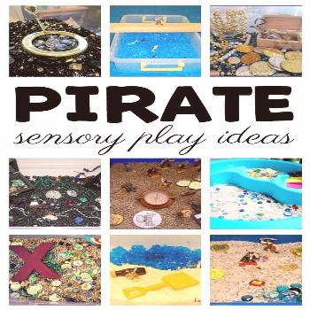 10+ Pirate Activities for Your Sensory Table, Me Hearties! Sensory Pirate Activities for Kids