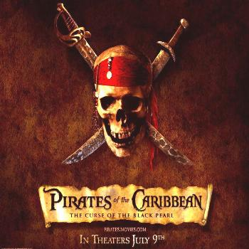 battle epic Pirate of the Caribbean: Curse of the Black Pearl Entertainment Movies HD Art  Pirate o