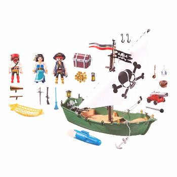 Buy Playmobil 70151 Limited Edition Pirates Pirate Ship with Underwater Motor at Entertainment Eart