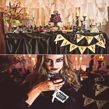 Creepy Pirates of the Caribbean inspired Halloween for adults // hostess with the Mostess® Creepy