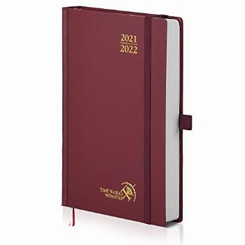 Daily Planner 2021-2022 Hardcover - Academic Planner