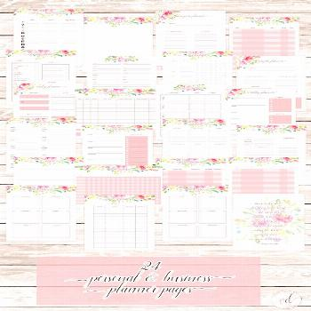 Free 2020 Planner Pages with 18 Month Calendars - The Organized Dream