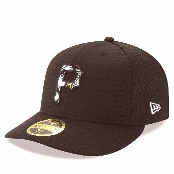 Men's New Era Black Pittsburgh Pirates 2020 Batting Practice Low Profile 59FIFTY Fitted Hat