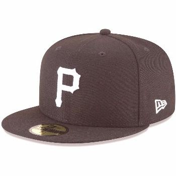 Men's New Era Black Pittsburgh Pirates Basic 59FIFTY Fitted Hat