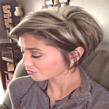 Mess Short Hair Styles For Women; Pixie Cuts;Trendy Hairstyles And Colors 2019; ... -