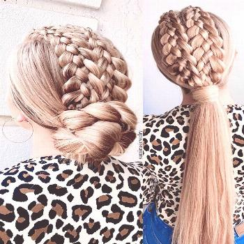 More formal hairstyles with braids please ? | @samirasjewelry