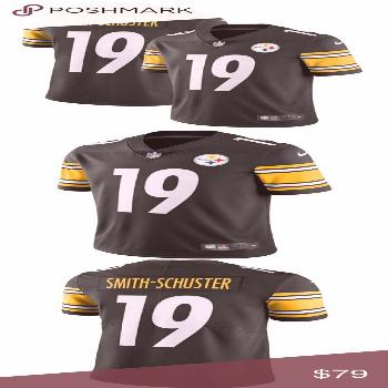 NWT Pittsburgh Steelers Smith-Schuster Jersey Get ready for game day with th... NWT Pittsburgh Stee