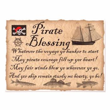 Pirate Blessing Kids Pirates Poster    Pirate Blessing Kids Pirates Poster   ,