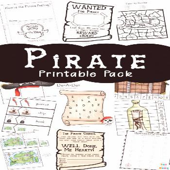 Pirate Coloring Pages  Pirate Activities - Fun with Mama