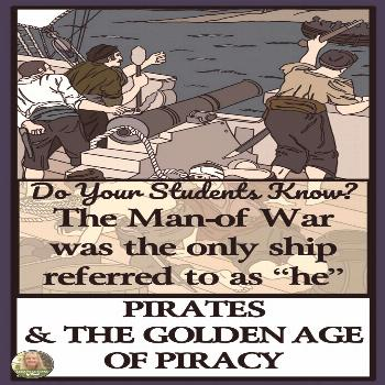 PIRATES AND PRIVATEERS - Reading Passages and Classroom Activities Looking for a low-prep History l