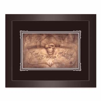 Pirates of the Caribbean ''High Seas Adventure'' Framed Deluxe Print by Noah  shopDisney