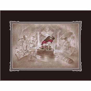 Pirates of the Caribbean ''Thar' Be Pirates in These Parts'' Deluxe Print by Noah  shopDisney