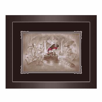 Pirates of the Caribbean ''Thar' Be Pirates in These Parts'' Framed Deluxe Print by Noah  shopDisne