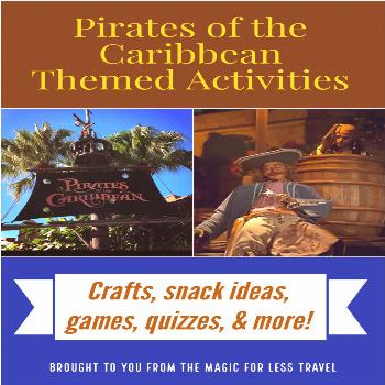 Pirates of the Caribbean Themed Activities for You to Experience at Home-#activities