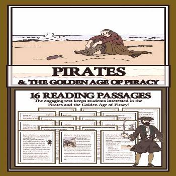 PIRATES, PRIVATEERS, AND THE GOLDEN AGE OF PIRACY - READING COMPREHENSION Looking for a low-prep Hi
