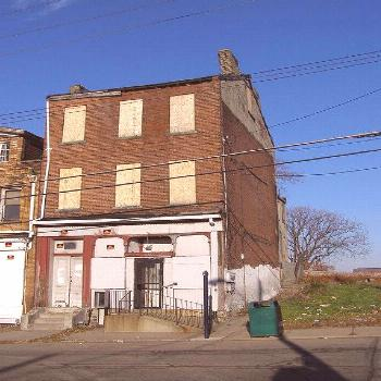 Pittsburgh PA: Hill District - August Wilson's Birthplace,  Pittsburgh PA: Hill District - August W