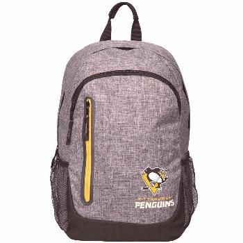 Pittsburgh Penguins Heathered Gray Backpack