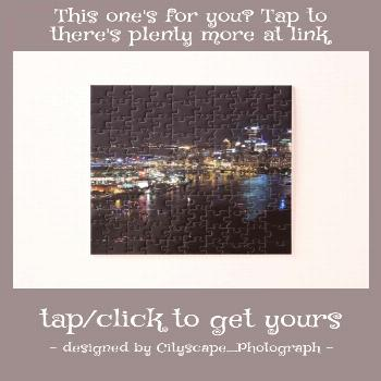 Pittsburgh Skyline at Night Jigsaw Puzzle