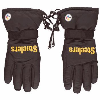 Pittsburgh Steelers Team Color Insulated Gloves