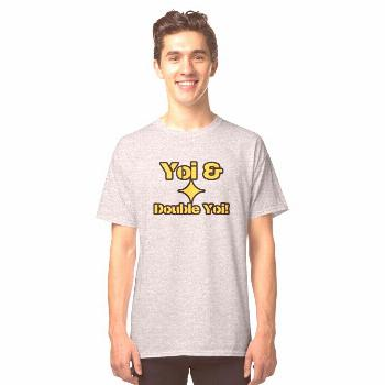 'Pittsburgh Yoi and Double Yoi Steelers History Shirt Sticker' Classic T-Shirt by Aaron Geraud -  G