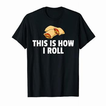 Pizza Rolls Funny Cheese Snack T-Shirt