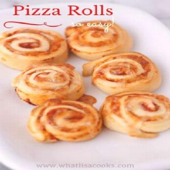 Pizza Rolls - on the table in 20 minutes. a crowd pleasing dinner or lunch recipe! These freeze gre