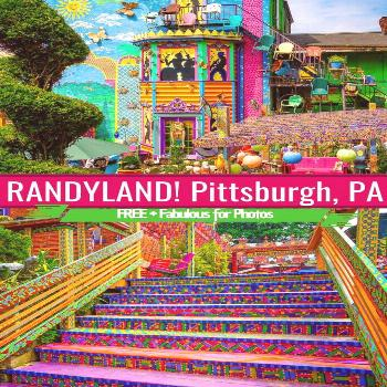 Randyland Randyland is the best free place to visit in Pittsburgh, PA for colorful photos, fun, & c