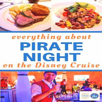 REVIEW: Pirate Night Dinner Disney Magic Cruise Ship There are things to look forward to when Micke