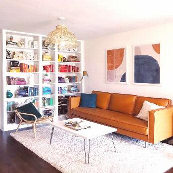 Small Space Squad Home Tour: Inside the Modern Eclectic Home of Sarah Wissinger in Pittsburgh Small