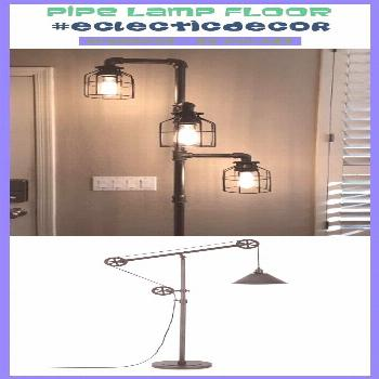 Traditional decor  Pipe lamp sports, Pipe lamp wall, Pipe lamp design, g...#decor