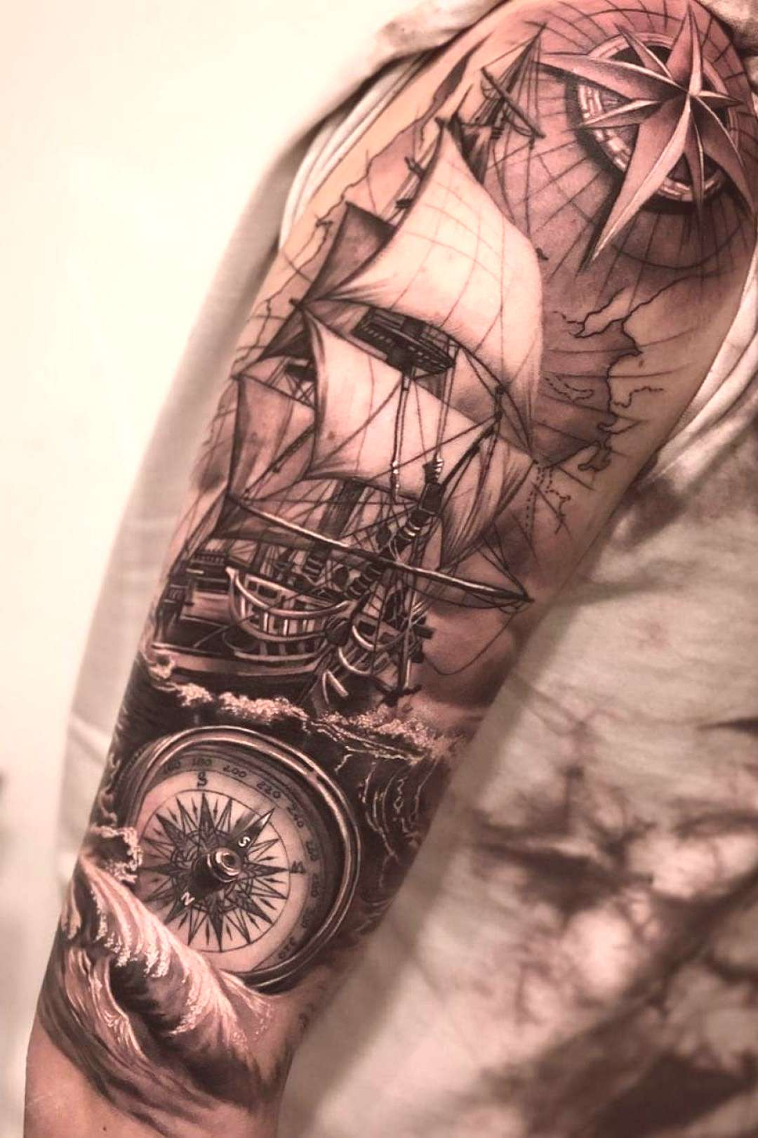 39+ amazing and best arm tattoo design ideas for 2019 part 12 - pirates ... - 39+ amazing and best