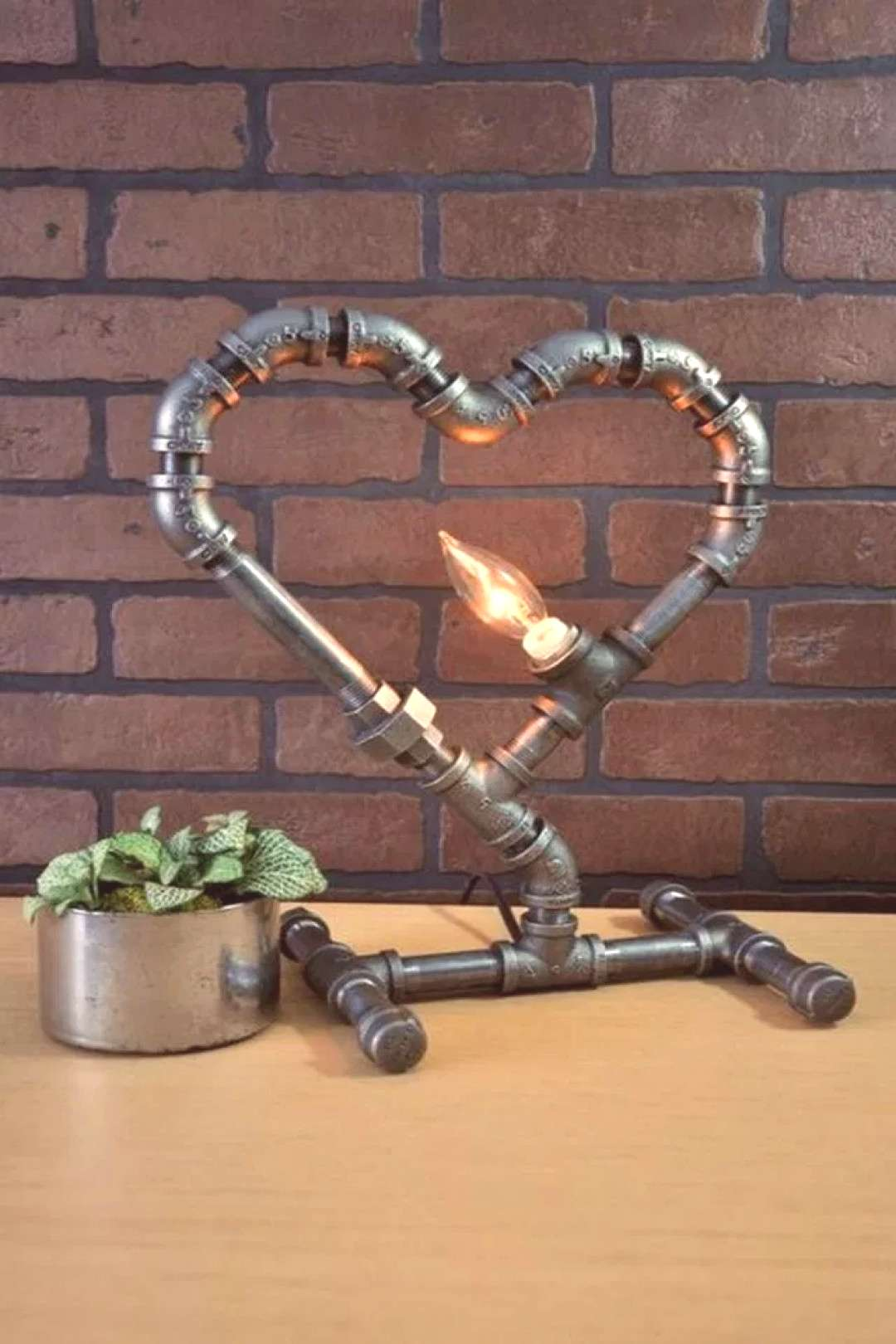45+ Interesting Industrial Pipe Lamp For Home
