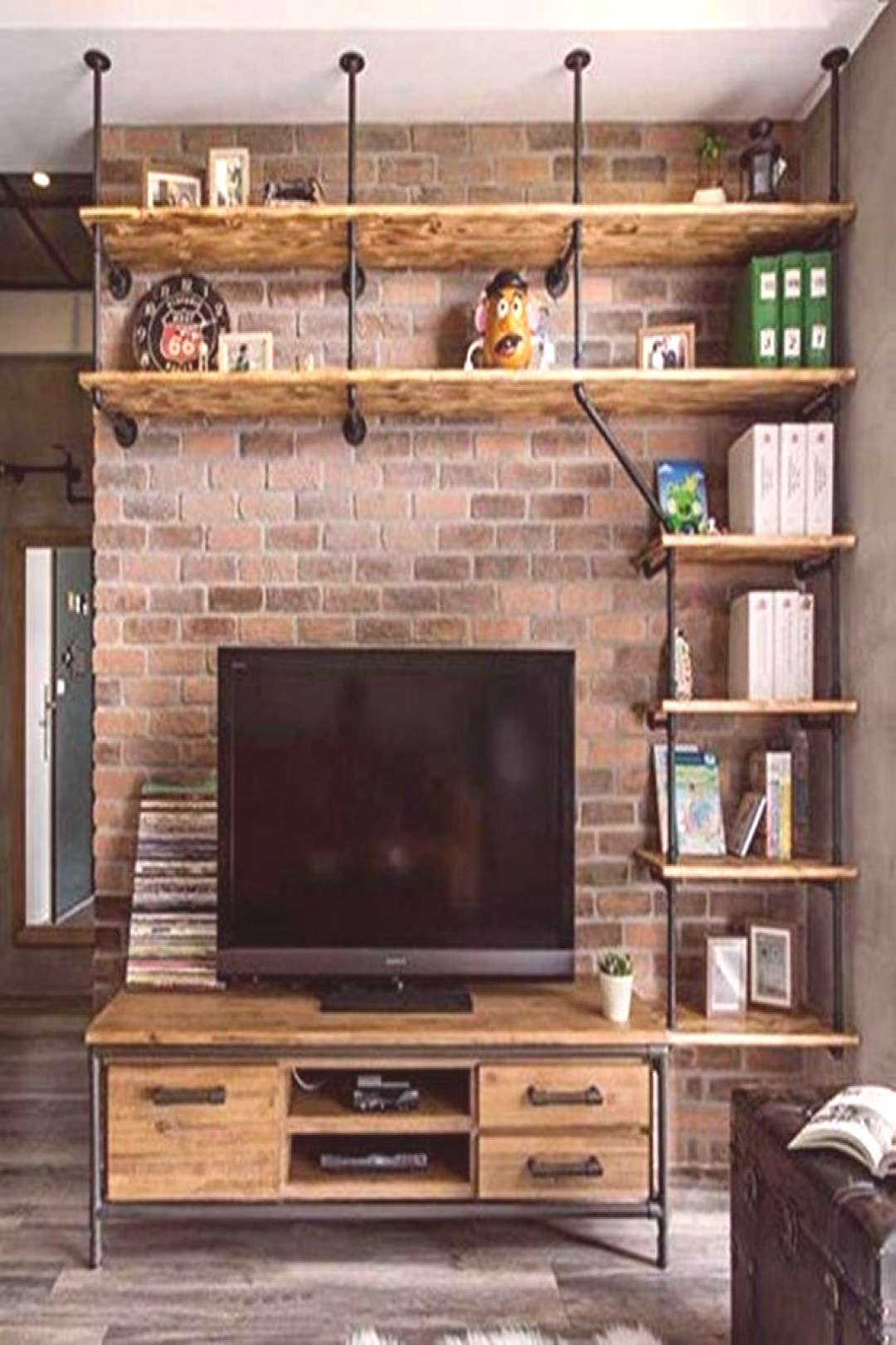 5 DIY Pipe Shelves to Make an Industrial Theme for Your Home