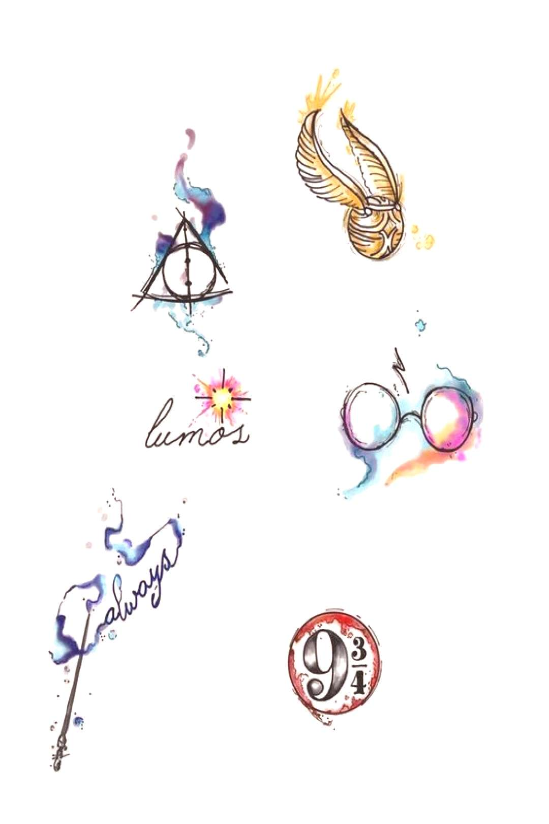 59 Harry Potter tattoos by Lady Pirates Harry Potter tattoos by Lady Pirates Tattoo Studio in Leig