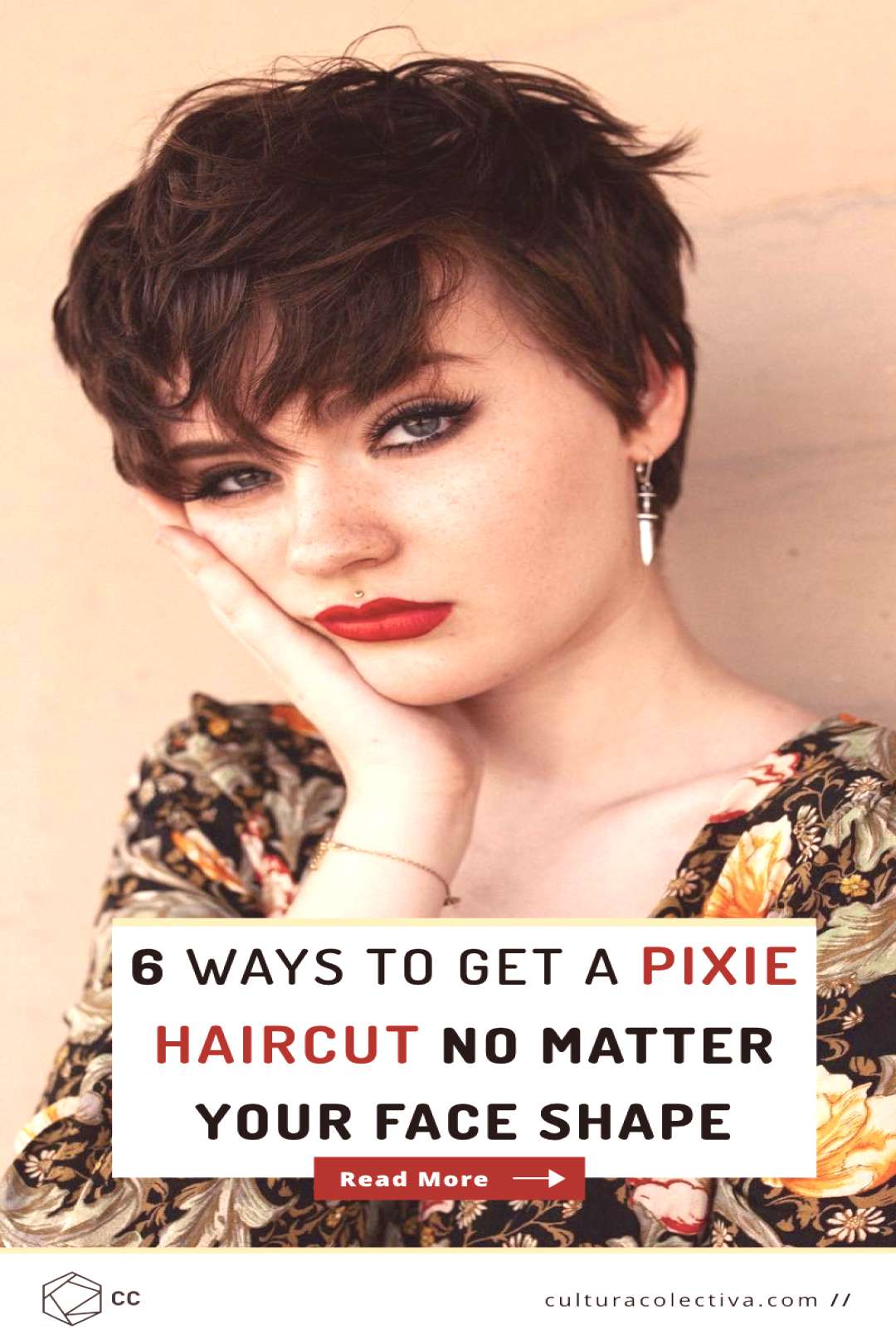 6 Ways To Get A Pixie Haircut No Matter Your Face Shape. Its common to think you dont have the r