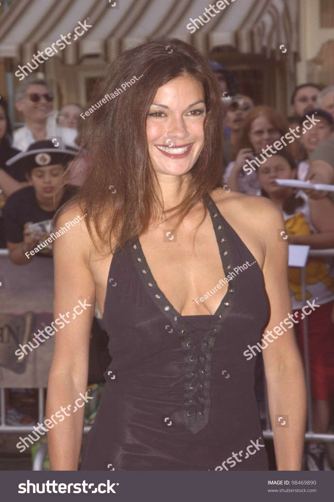 Actress TERI HATCHER at the world premiere of Pirates of the Caribbean The Curse of the Black Pear