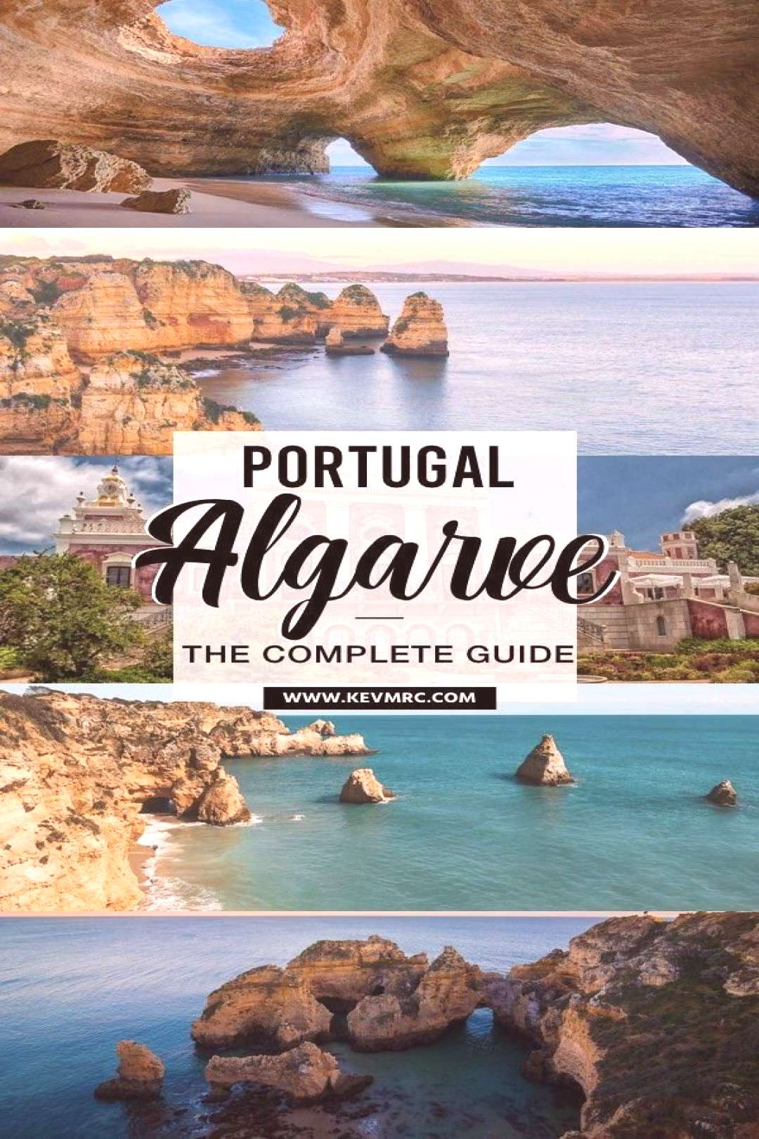 Algarve is the south coast of Portugal, and it's filled with incredible beaches and places to see