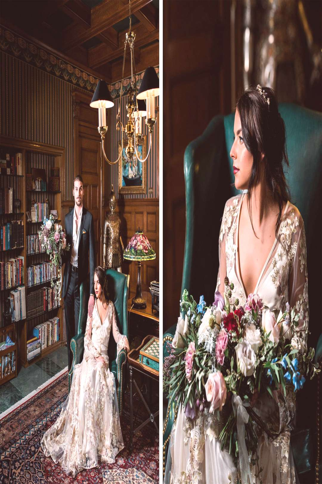 Beauty and the Beast Styled Shoot — Pittsburgh Wedding amp Portrait Photographer | Kathryn Hyslop P