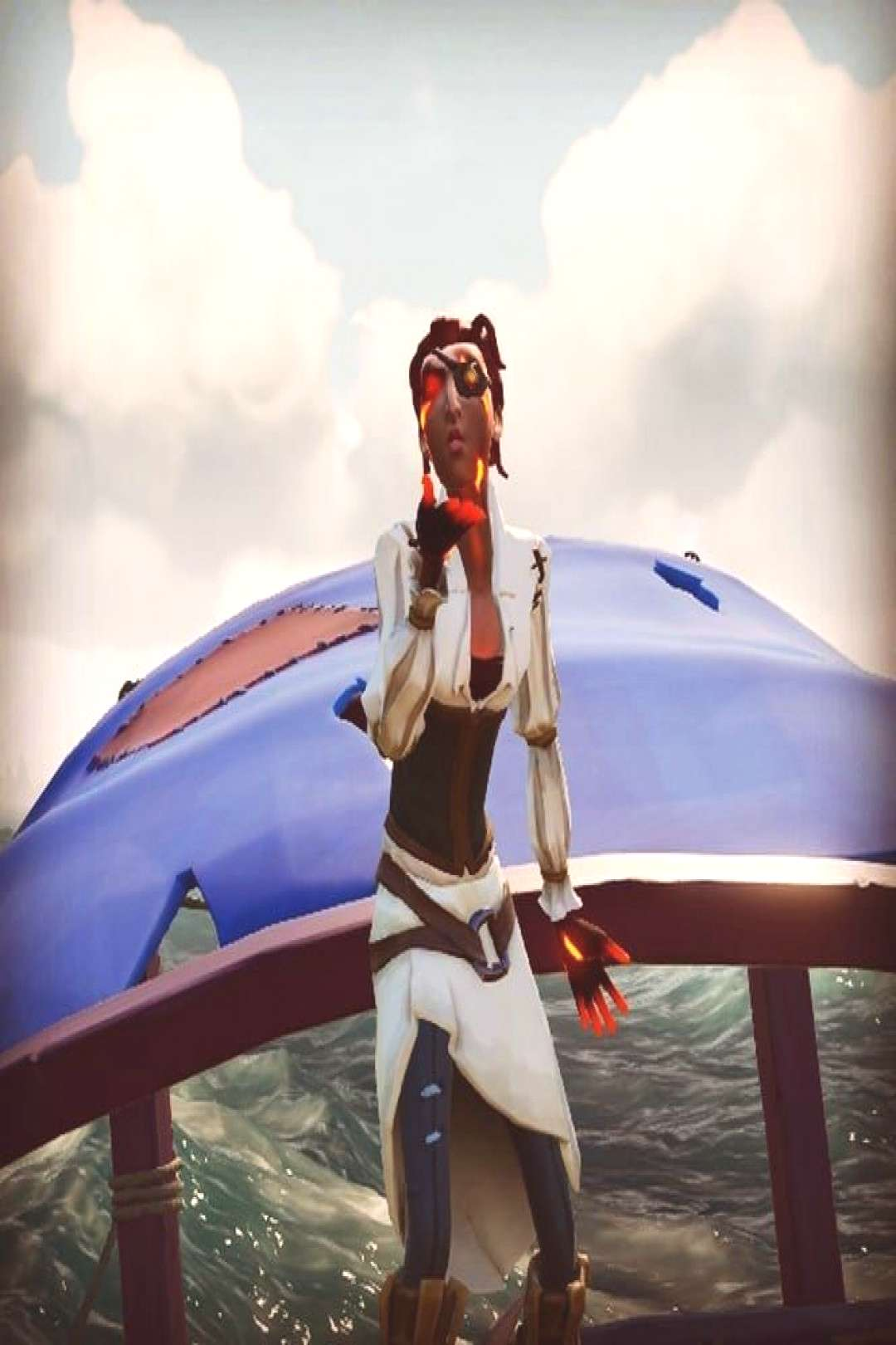 Big pirate kisses on your voyages today ???
