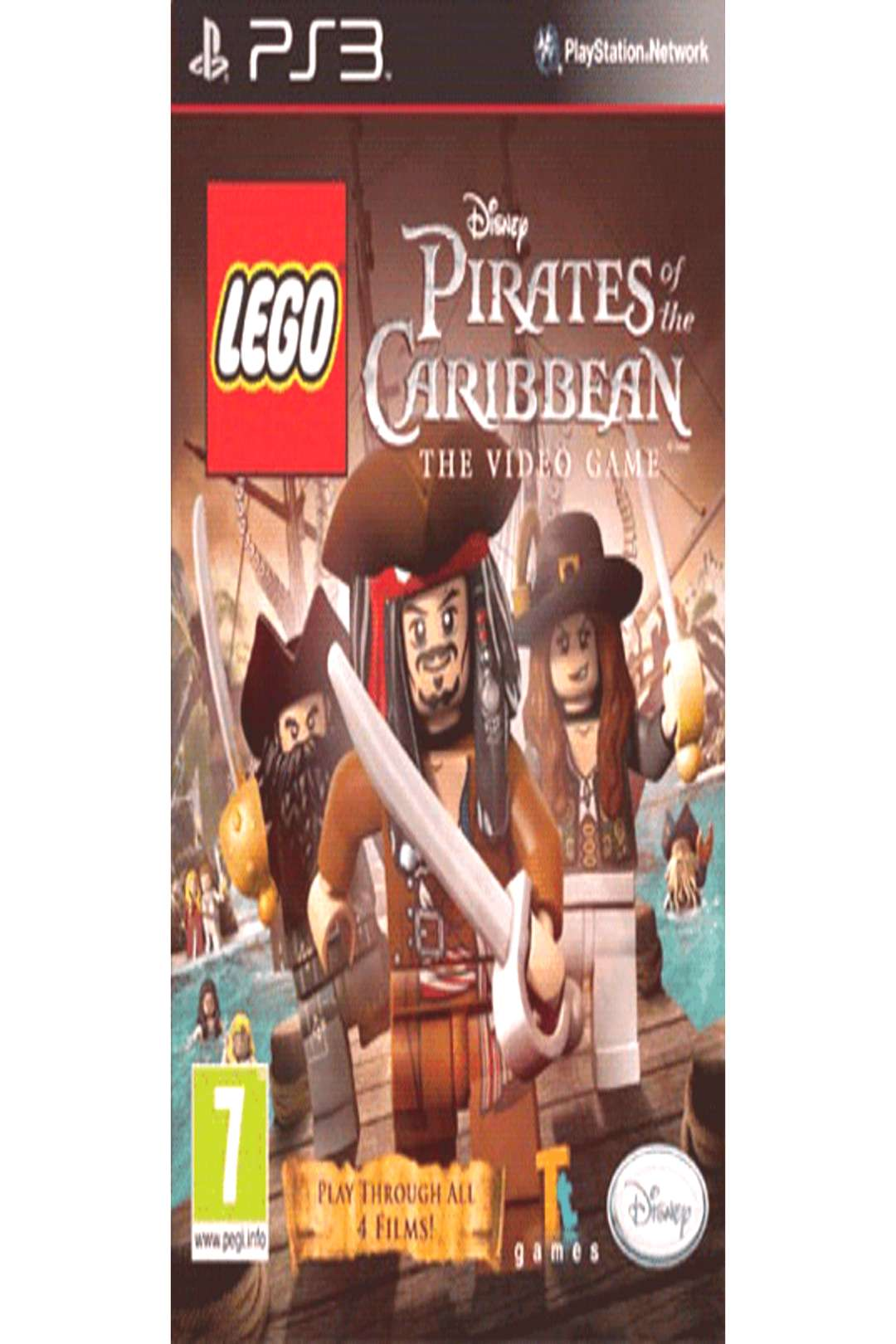 Buy LEGO Pirates of the Caribbean on PlayStation 3 GAME ,
