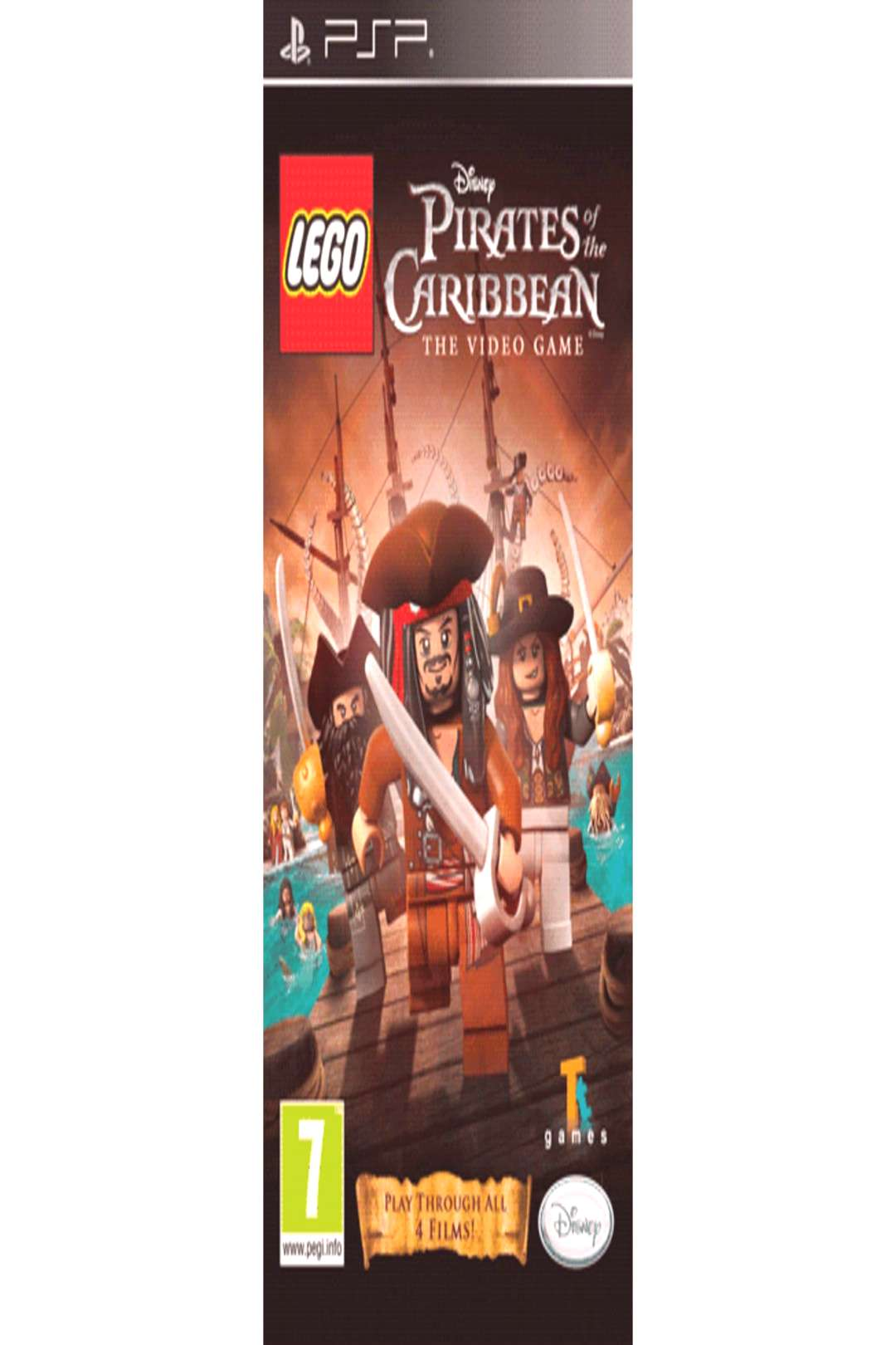 Buy LEGO Pirates of the Caribbean on PSP GAME ,