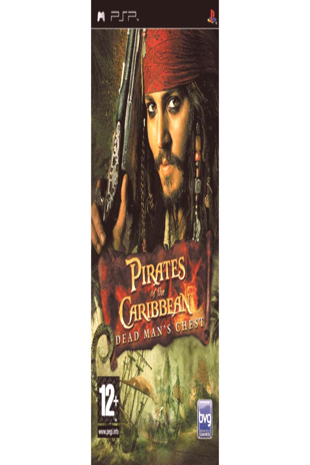 Buy Pirates of the Caribbean Dead Mans Chest on PSP GAME ,