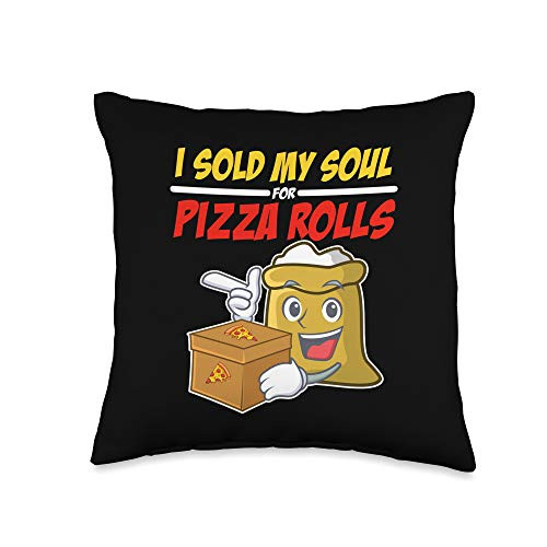 BW Pizza Lover Gifts I Sold My Soul Rolls Foodie Gift Funny