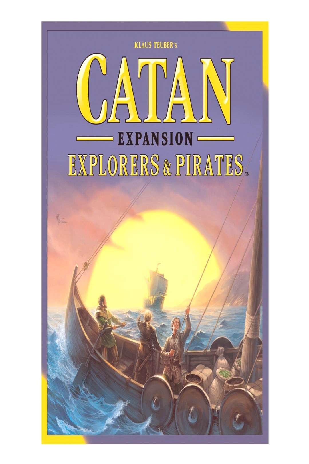 Catan Explorers amp Pirates Expansion by Mayfair Games