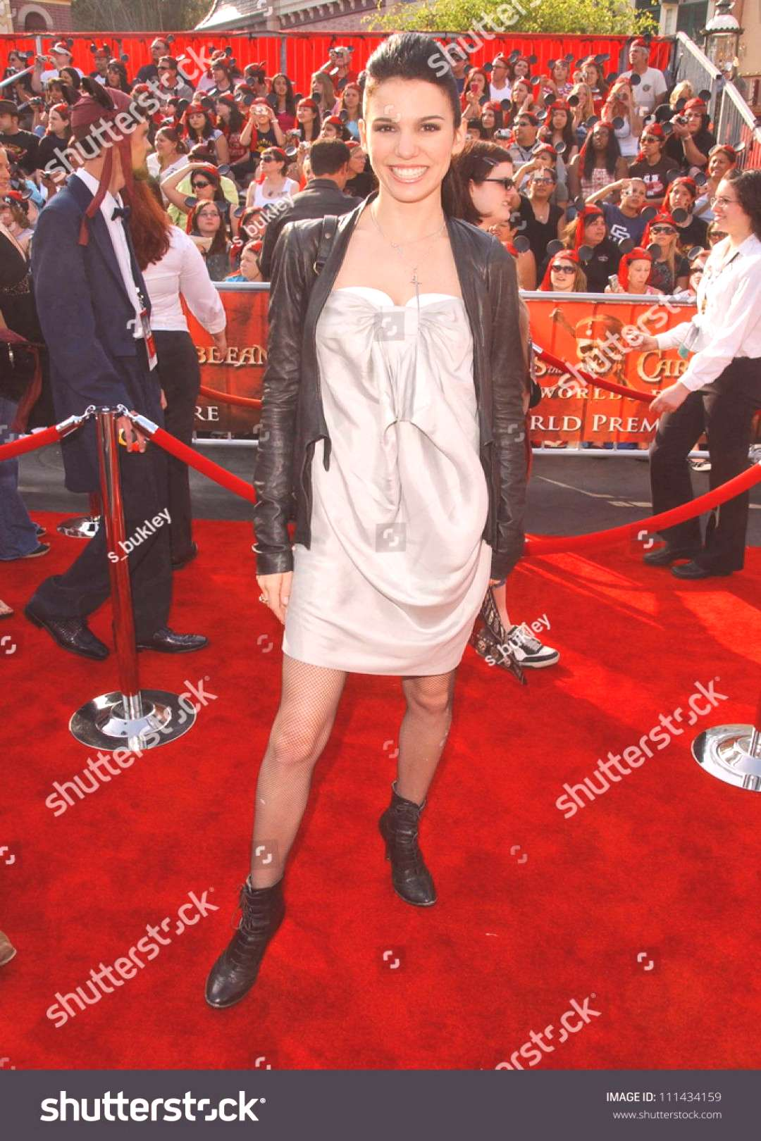 Christy Carlson Romano at the World Premiere of quotPirates of the Caribbean At Worlds Endquot Bene