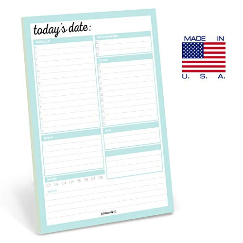 Daily To-Do Planner Notepad By Julianne amp Co. - Premium