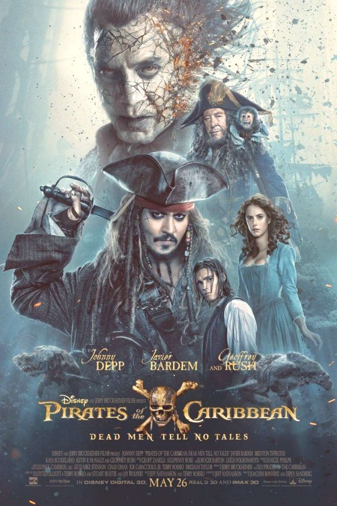 Disney Pirates of the Caribbean Movie Dead Men Tell No Tales Printable Activity Packet -