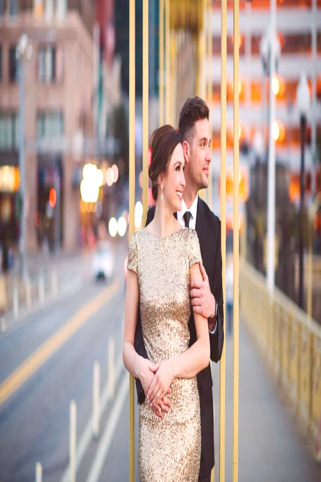 Fancy Downtown Pittsburgh Engagement Session - Fancy Downtown Pittsburgh Engagement Session. For m